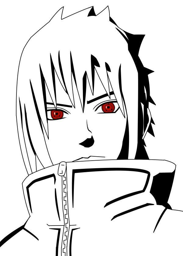 Tho Good Or Bad Sasuke Fanart Based On The Anime Manga Naruto Tho Good Or Bad Sasuke Fanart Based On The Naruto Sketch Sasuke Drawing Naruto Shippuden Anime