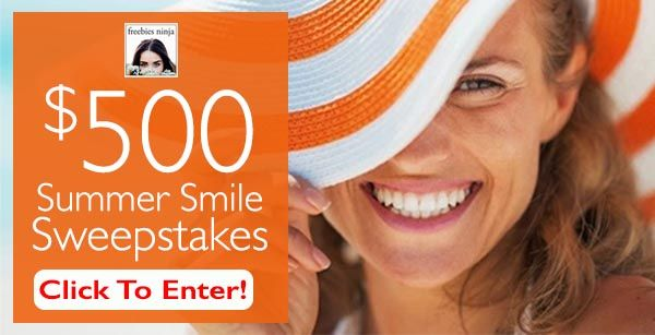 Summer Smile Sweepstakes