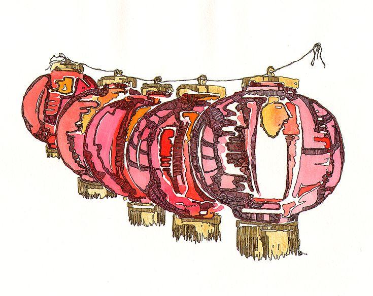 vintage chinese lanterns - Google Search