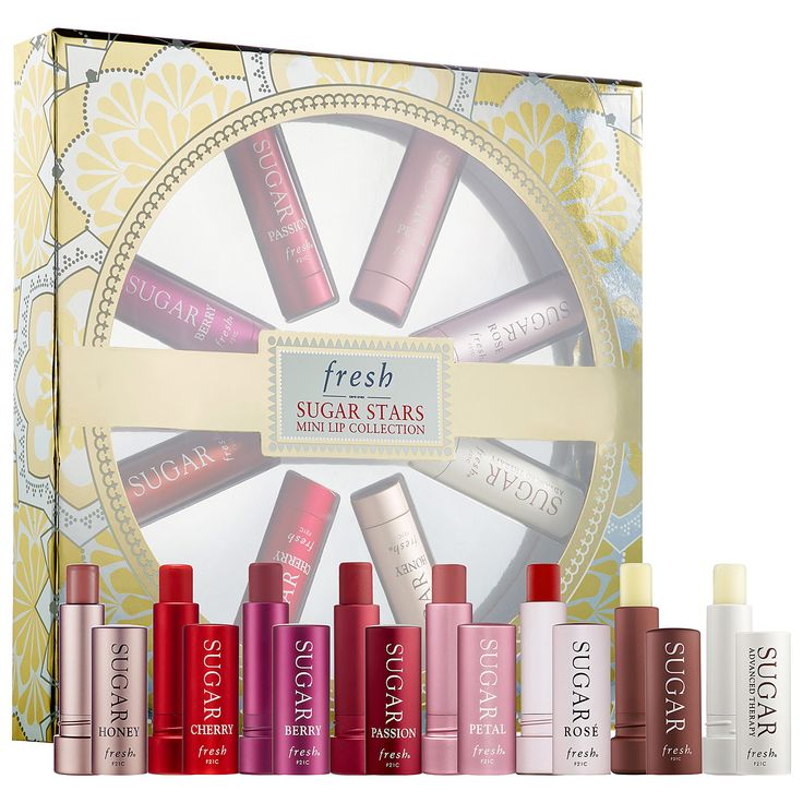 New Holiday gifts sets are out in Sephora!! Check out Sugar Stars: 8 mini lip treatments - one for every mood!! Sephora.com