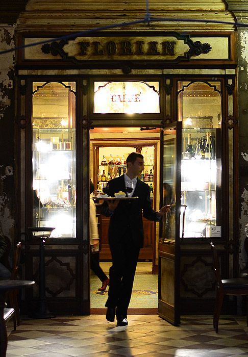 Established in 1720, the Florian is said to be the oldest italian coffee house in continuous operation.