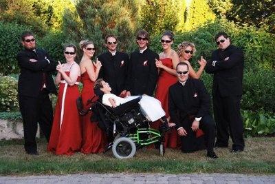 bridal party pic idea