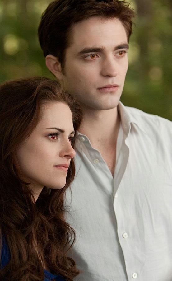 Bella e Edward em Amanhecer Parte 2