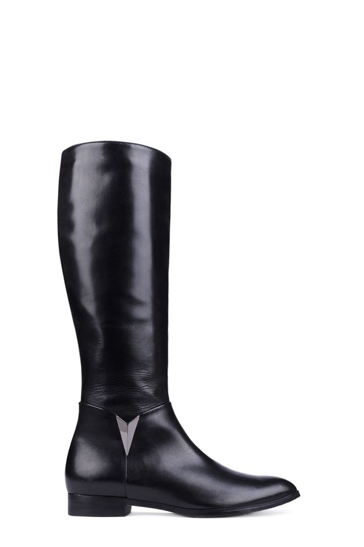 the 25+ best bottes cuir noir ideas on pinterest | bottes cuir