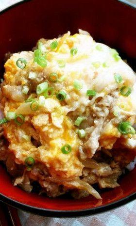 Pork and Egg Don 超ォ~簡単美味しい豚玉丼《他人丼》