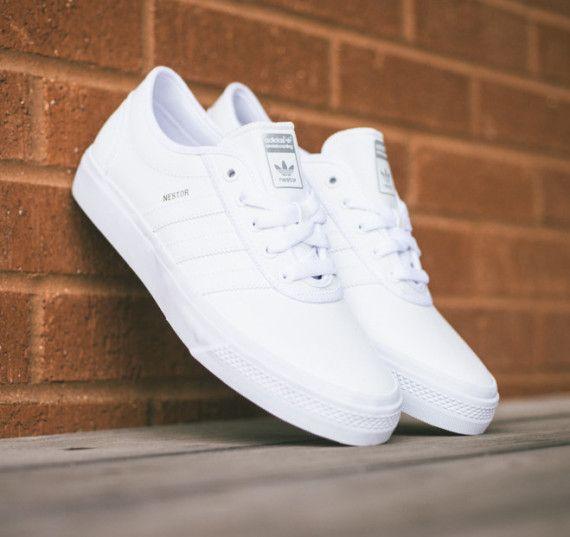 """adidas Skateboarding adi Ease Nestor   """"All White"""""""