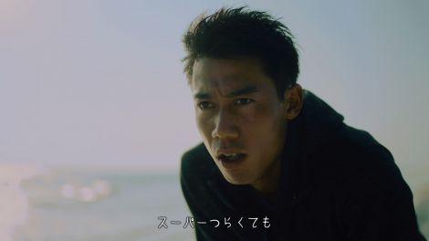 CMで嵐・櫻井翔と共演する錦織圭=ウイダーinゼリースーパーエネルギーの新CM「前を向く」篇