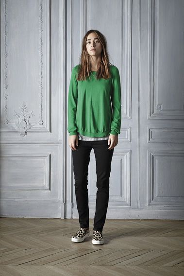 #spring #sweater #cashmere #green #style #outfit #casual #womenswear #outfit