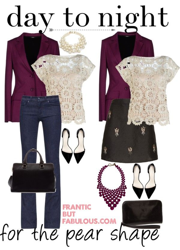 Frantic But Fabulous Day to night outfit idea for the pear shape | http://www.franticbutfabulous.com/2014/01/03/day-night-outfit-idea-pear-shape/