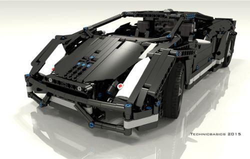 Lego-Technic-Bauanleitung-Lamborghini-Gallardo-Black-FullRC-ONLY-INSTRUCTION
