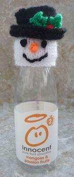 Innocent Smoothies Big Knit Hats - Snowman