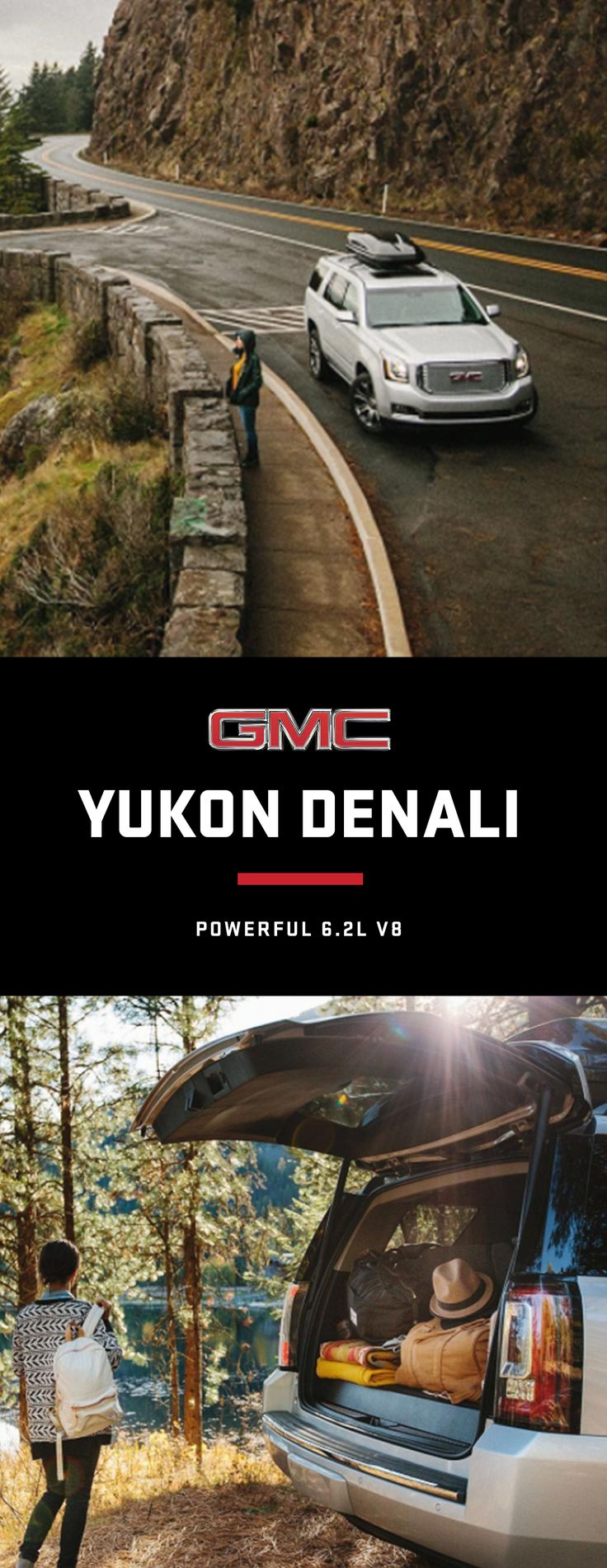 The 2018 yukon denali full size luxury suv features our most advanced 6 2 l v 8 engine yet engineered to let you go where you want
