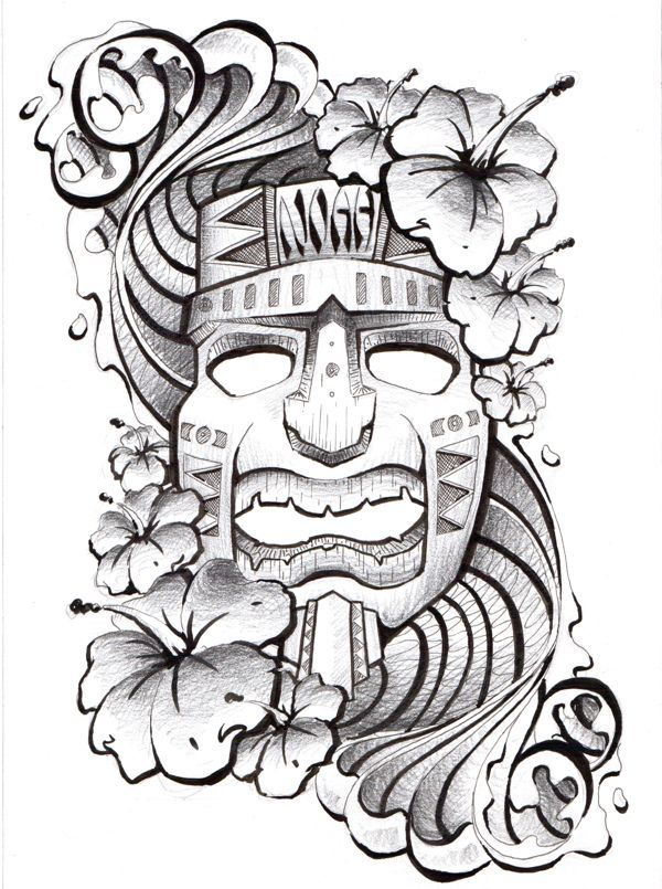 17 Best ideas about Tiki Tattoo on Pinterest | Tiki tattoo, Tiki ...