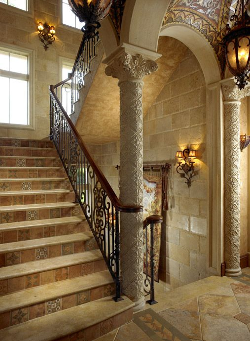 17 best images about tuscan on pinterest tuscan art Ranch style staircase