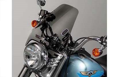 Detachable Medium Tint Windshield Harley Davidson XL FXR FXD FXST FLST FLHR FX #VTwinManufacturing