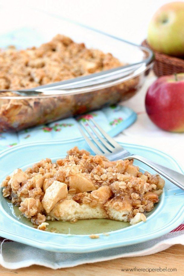 Overnight Apple Crisp French Toast | Community Post: 22 Easy Brunch Recipes For Busy Weekends