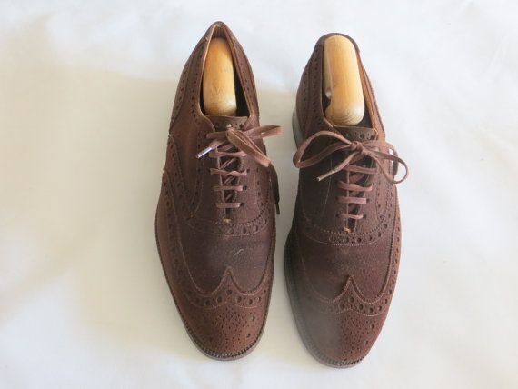 Robert and Rowe vintage shoes/coffee by Madeinbricklane on Etsy