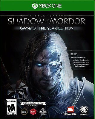 awesome Middle-earth Shadow of Mordor -- Game of the Year Edition (Microsoft Xbox... - For Sale View more at http://shipperscentral.com/wp/product/middle-earth-shadow-of-mordor-game-of-the-year-edition-microsoft-xbox-for-sale/