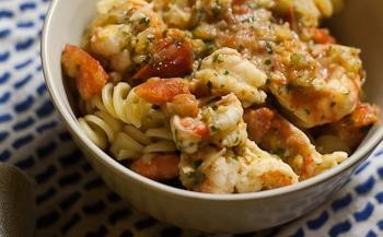 Shrimp and white wine pasta sauce   Recipes   Pinterest