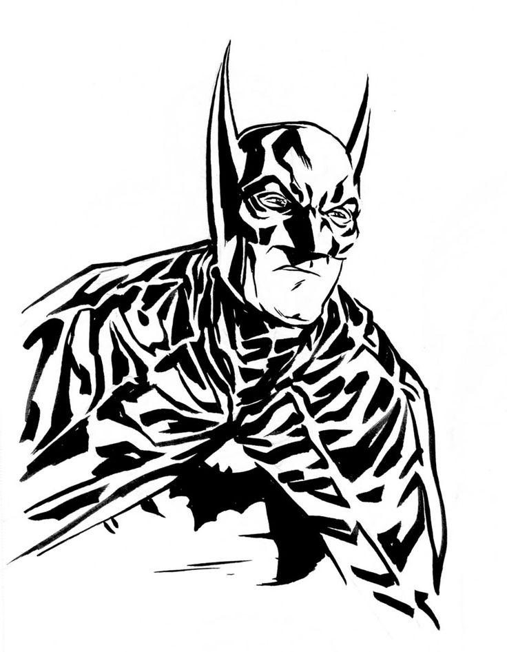 Mejores 999 imágenes de LineArt: Batman-Family, Friends & Foes en ...