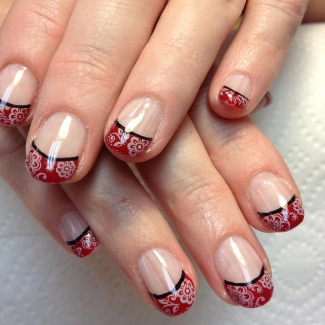 trending bandana nails ideas