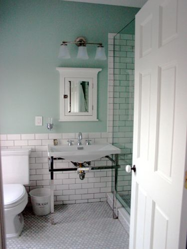 Exceptional Pretty White Subway Tile With Gray Grout. White Tile BathroomsBathroom  ColorsBathroom ... Part 26
