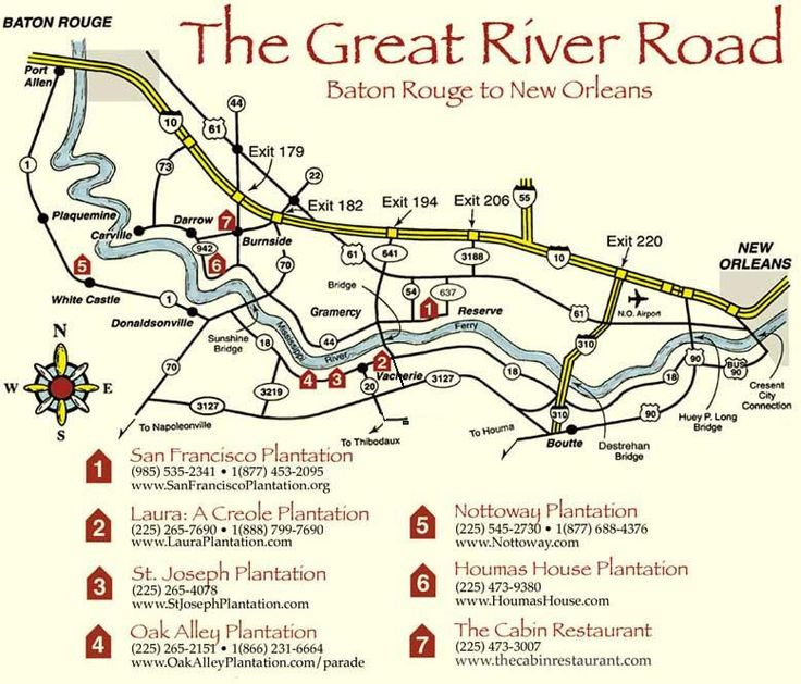 Great River Road Plantations - I REALLY want to travel this one day and see all of the beautiful architecture and history.