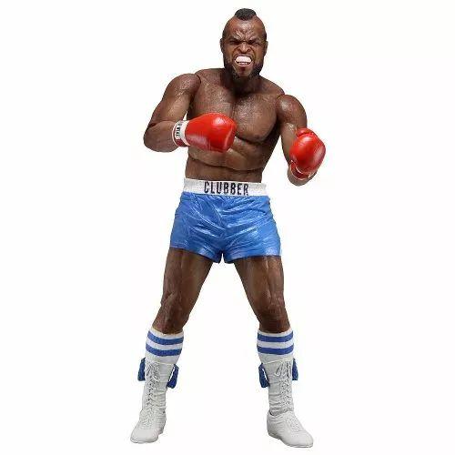 Rocky Edição Especial 40 Anos - Clubber Lang Short Azul Neca - R$ 119,99