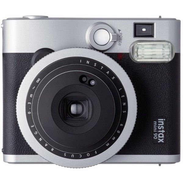 Fujifilm Instax Mini 90 Neo Classic Instant Film Camera (Import Model) ($153) ❤ liked on Polyvore featuring fillers, camera, accessories, electronics and tech