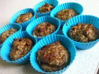 Kolbászos-cukkinis muffin ~ Ketogén Paleo Receptek
