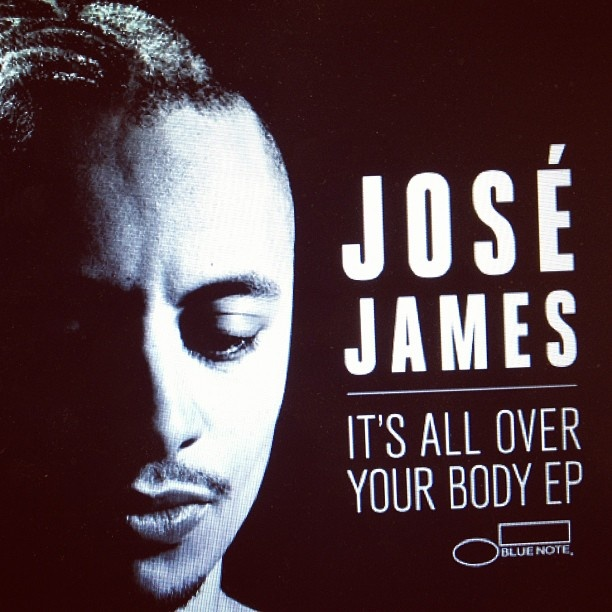 It's All Over Your Body - José James reminds me of...New José James, his first EP on the iconic Blue Note record label. Crazy instrumentation. #singer #soul #blues #jazz #bluenote #music posted via @instatuneapp #musicmoment #instatuneme #instatuneapp #moment #rbsoul #josjames