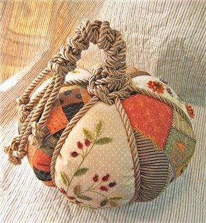 Fabric Pumpkin: