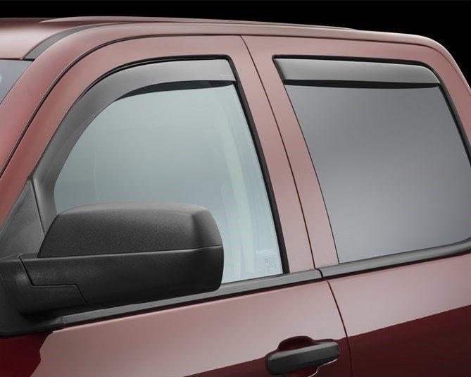 2017 Gmc Sierra Sierra Denali Rain Guards Side Window Deflectors For Cars Trucks Suvs And Minivans Weathertech Window Deflectors Weather Tech Silverado