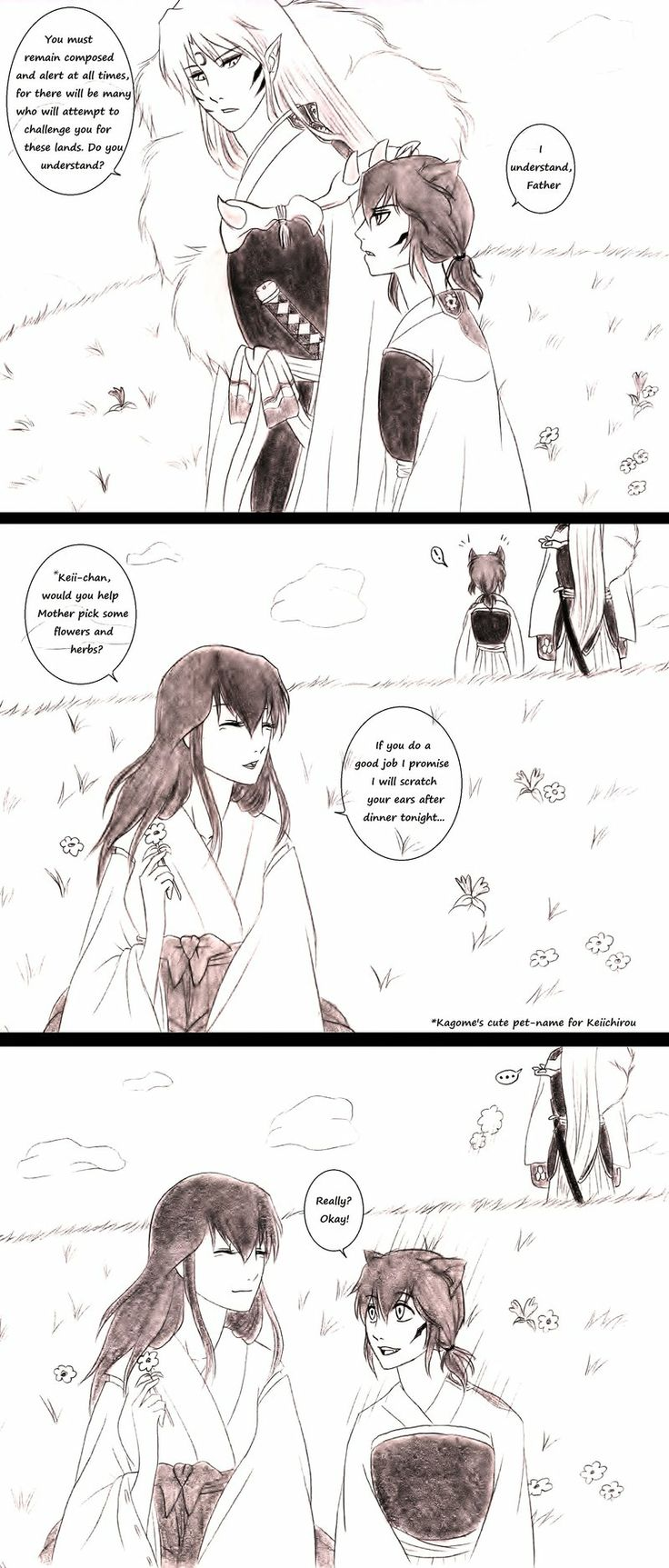 Fan Inuyasha Fiction X Kagome