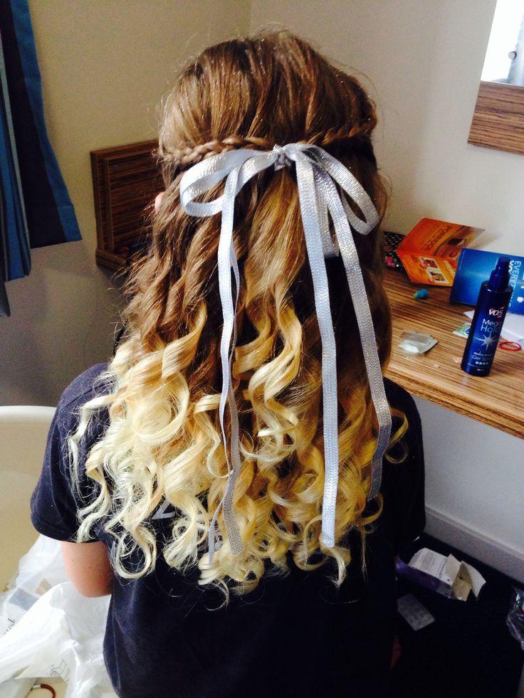 Groovy Lyrical Dance Hair Ideas Braids Pinterest Ideas Lyrical Hairstyle Inspiration Daily Dogsangcom