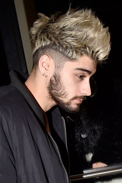 Zayn malik 2016. This hair color is life!