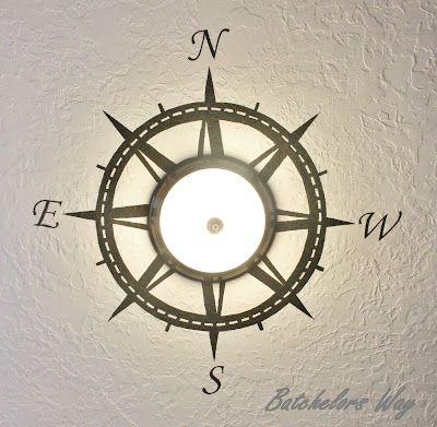 compass :) Batchelors Way: Pirate Room Reveal!!