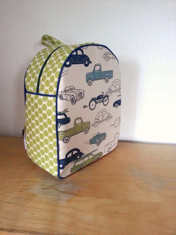 Childrens Backpack Kids Backpack Toddler Backpack Retro