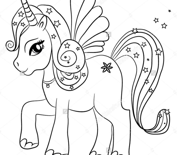 42 Printable Coloring Unicorn Sheets in 2020 | Unicorn ...