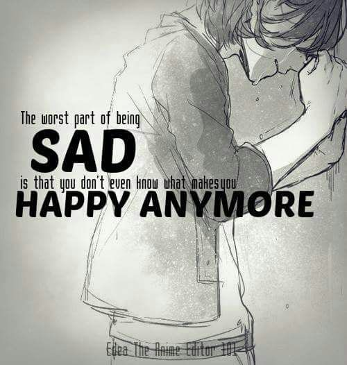 Sad Quotes About Depression Drawings: 25+ Best Sad Anime Quotes On Pinterest