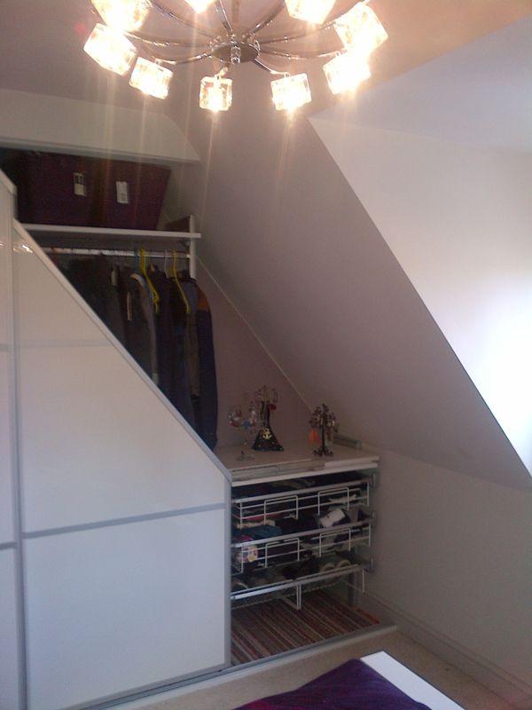 7 best haus begehbarer kleiderschrank schiebet ren images on pinterest attic attic spaces. Black Bedroom Furniture Sets. Home Design Ideas