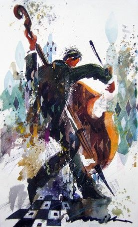 Misha Lenn - artist. Cellist
