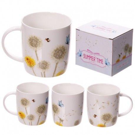 Mug en porcelaine - Pissenlits
