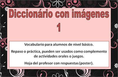 Diccionario con imágenes 1