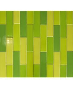 We like these colors but would prefer a horizontal orientation to the tiles