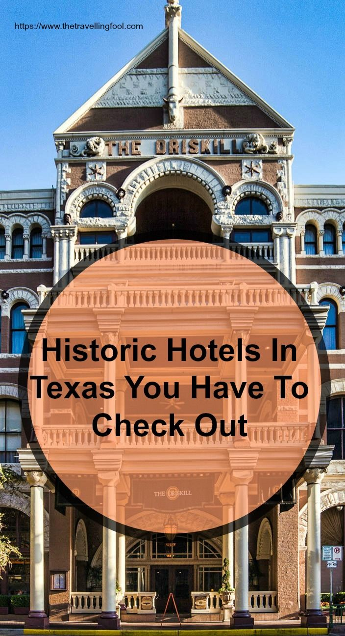 Staying at historic hotels is one way that travelers can experience something more personal instead of staying at the standard chain hotels. Check out these historic hotels in Texas.