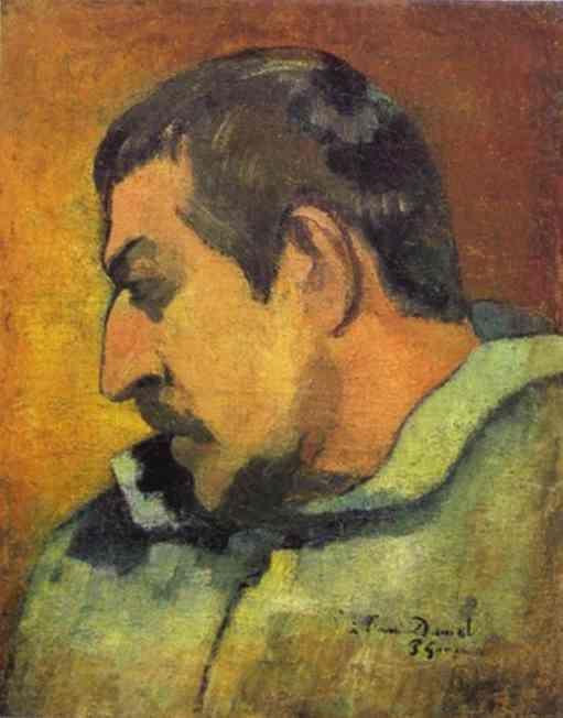 Auto-retrato. 1896. Artista: Paul Gauguin. Museu d'Orsay, Paris, França.  - WikiArt.org.