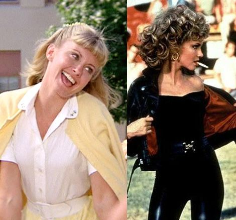 olivia newton john grease sandy: the suggestion is pretty obvious, bad girls have more fun.
