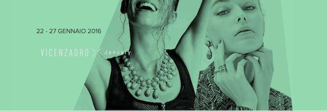 VICENZAORO January si svolgerà dal 22 al 27 gennaio 2016 ed è la prima manifestazione del calendario fieristico internazionale, collocata in un momento privilegiato per presentare tutte le nuove collezioni e anticipare i trend del gioiello.  #madeinitaly #artigianato #artisan