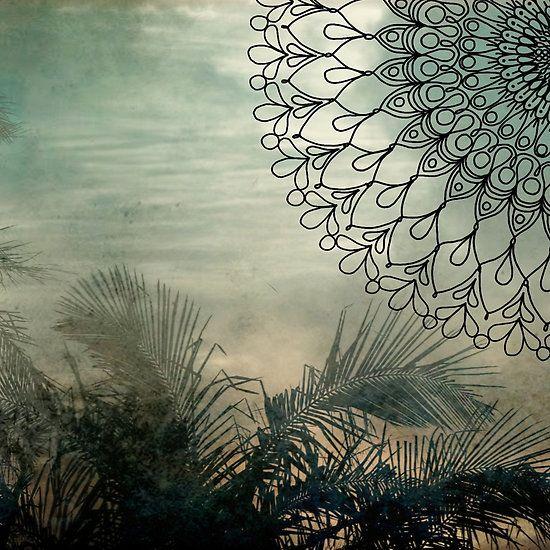 Island Palm Mandala